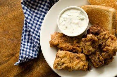 steak fingers jalapeno cream gravy | Dinner | Pinterest