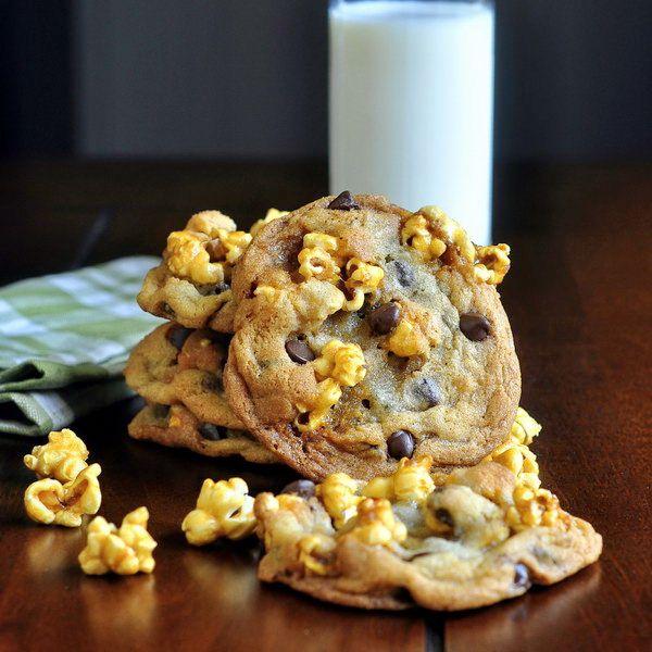 Caramel Corn Chocolate Chip Cookies | CoOkies&BaRs | Pinterest