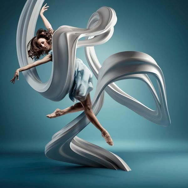 Beautiful dancer