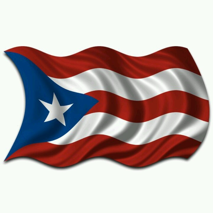 cuban flag and puerto rican flag