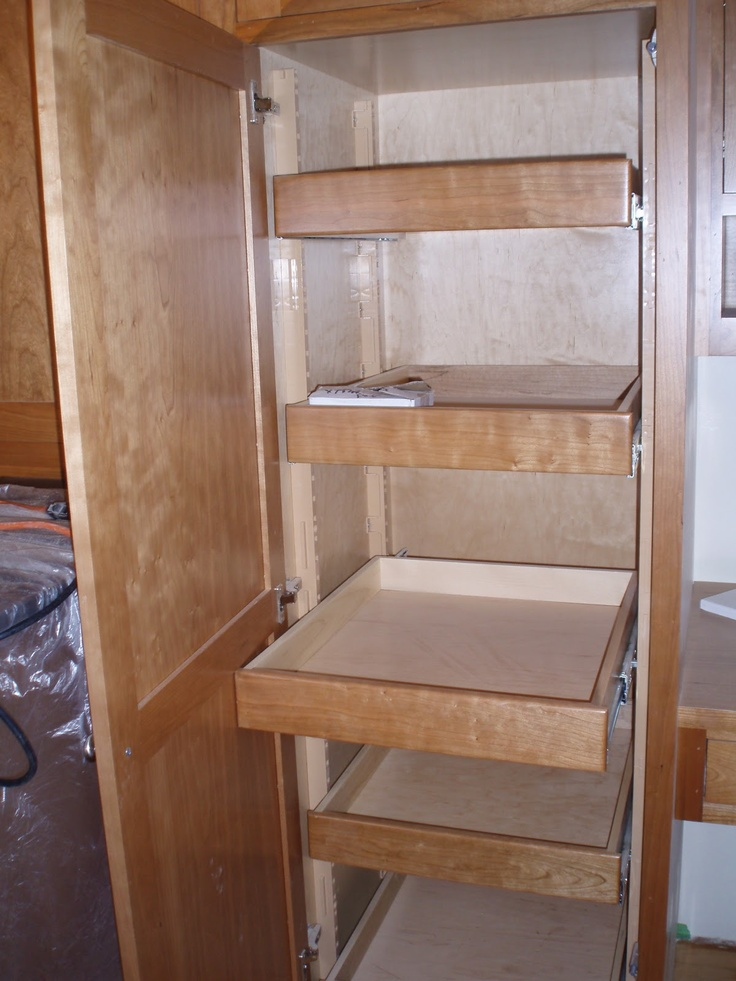 Pantry With Pull Out Drawers House Project Pinterest