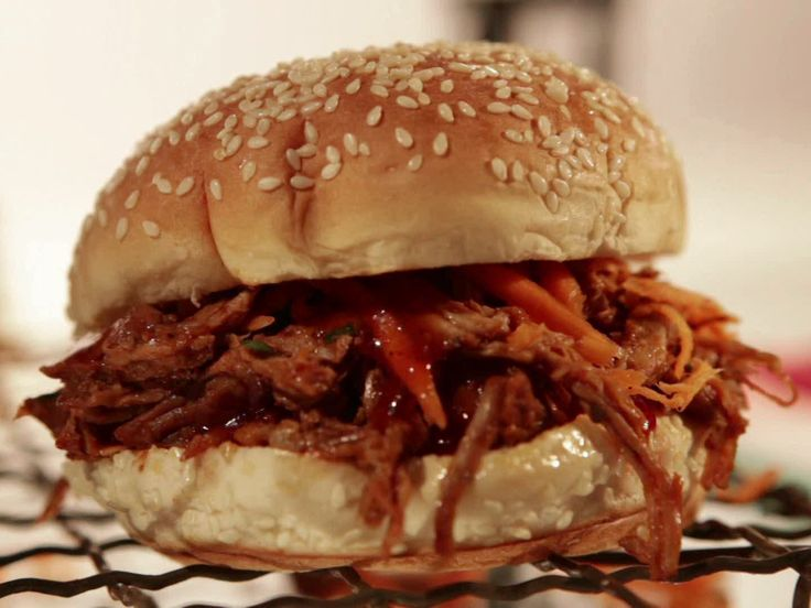 BBQ Pulled Pork Sandwich from FoodNetwork.com