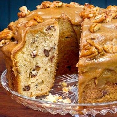 Cakes Recipes With Pictures | Praline Pound Cake. A Savannah