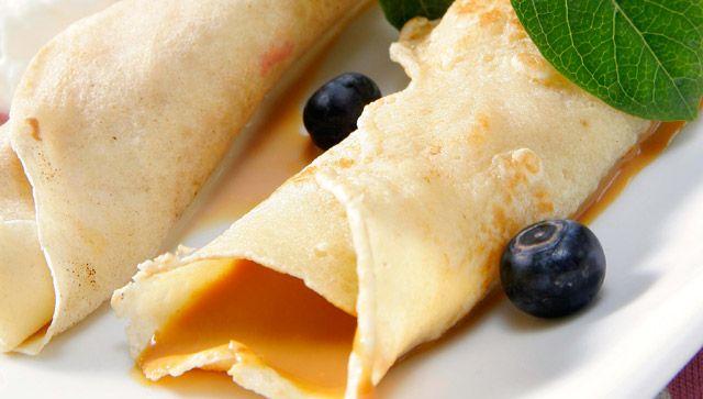 Crepes de dulce de leche | Desayunos y meriendas | Pinterest