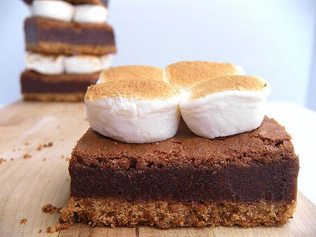 mores Brownie Bars | Brownies & Bars | Pinterest