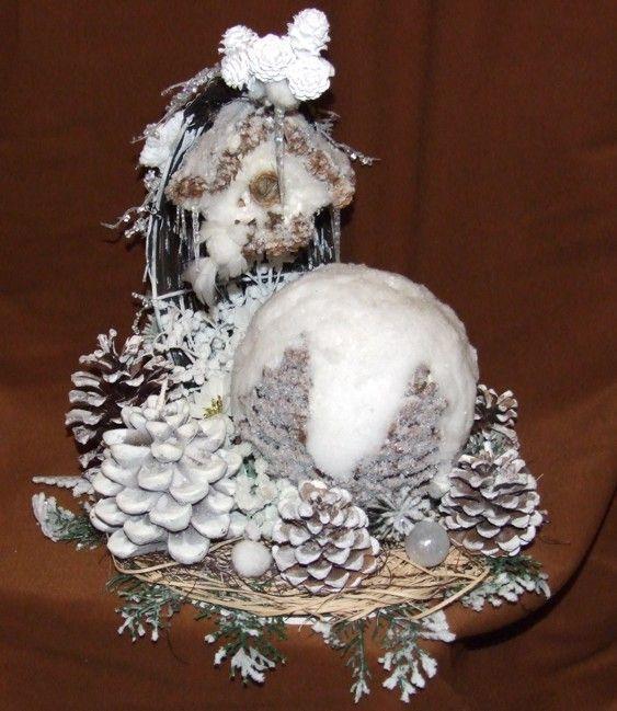 Centerpiece christmas pinterest
