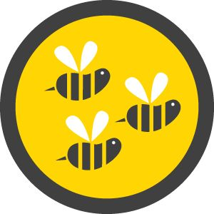Busy Bee Badge