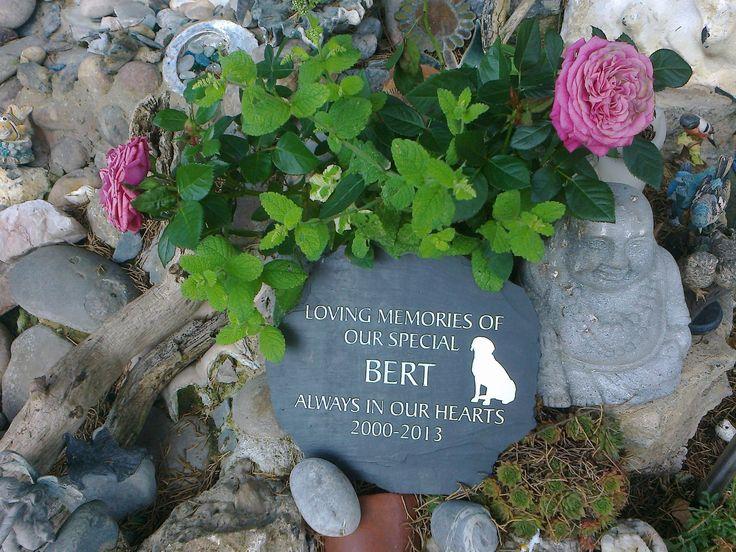 Attirant Slate Pet Memorial Plaque | Pet Memorials | Pinterest