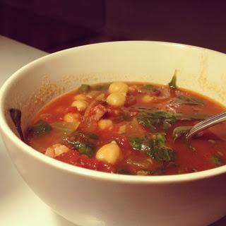 Rachel Allen - Chorizo Chickpea Soup | Food | Pinterest
