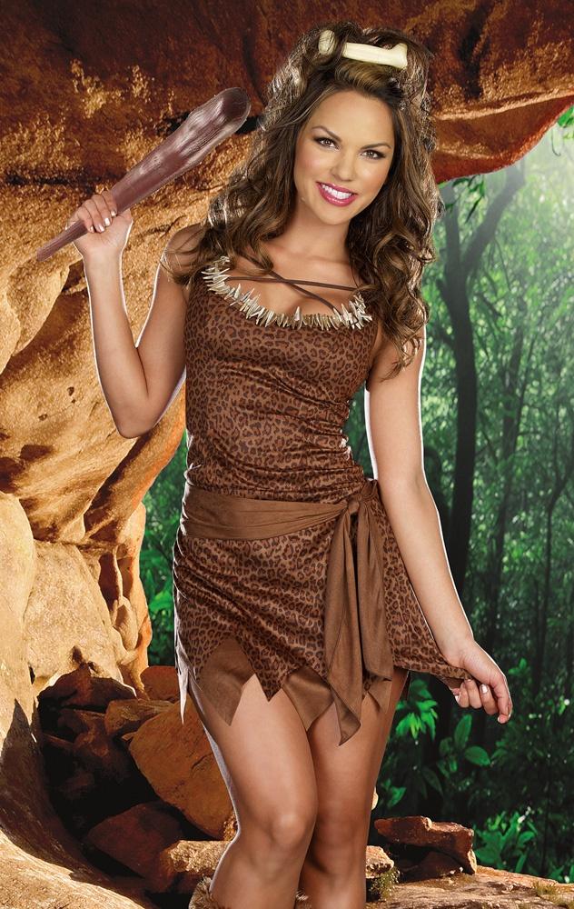 Cave beauty adult costume