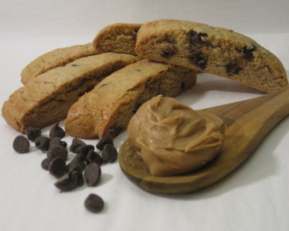 Peanut Butter Chocolate Chip Biscotti Cookies sale #blackfriday 12% ...