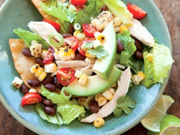 Chicken Tostada Salad | Recipes | Pinterest