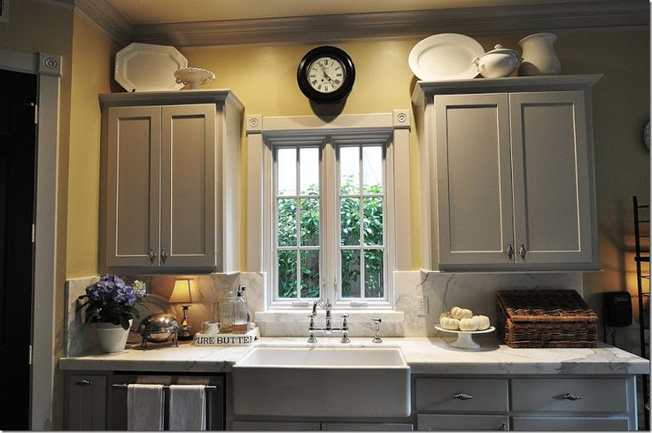 Best Grey Cabinets Yellow Walls Home Decor Pinterest 640 x 480