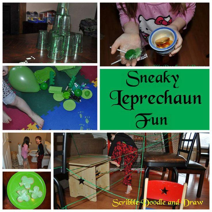 Leprechaun Classroom Visit Ideas : Leprechaun tricks st pattys pinterest
