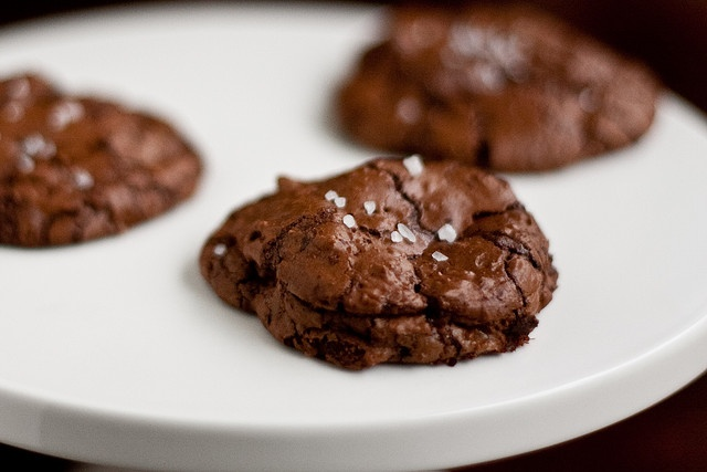 "Salted Chocolate-Chocolate Chunk Cookies | ""Desserted"" Island 