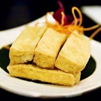 Crispy Pan-Fried Tofu by Food Republic | tofu | Pinterest