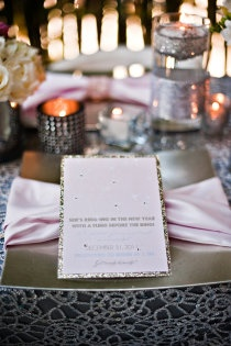 Sparkle Place Setting