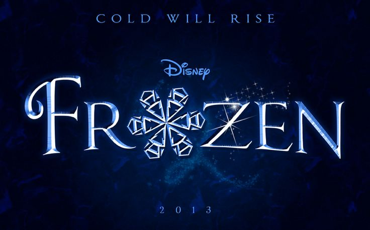 Old Disney Frozen logo. Wowwwwwww look at how gorgeous it was!
