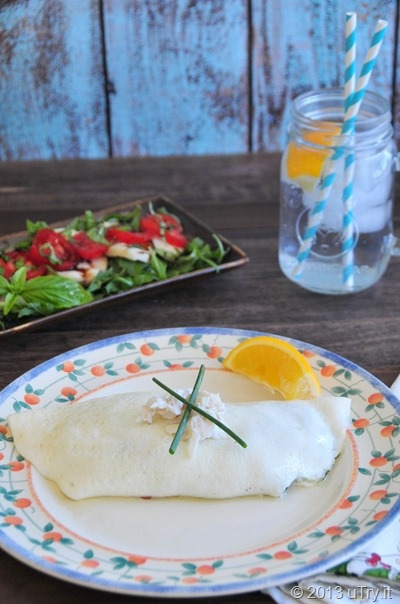 Egg Whites Sweet Crab Omelets and Smoky Caprese Salad Recipes http ...