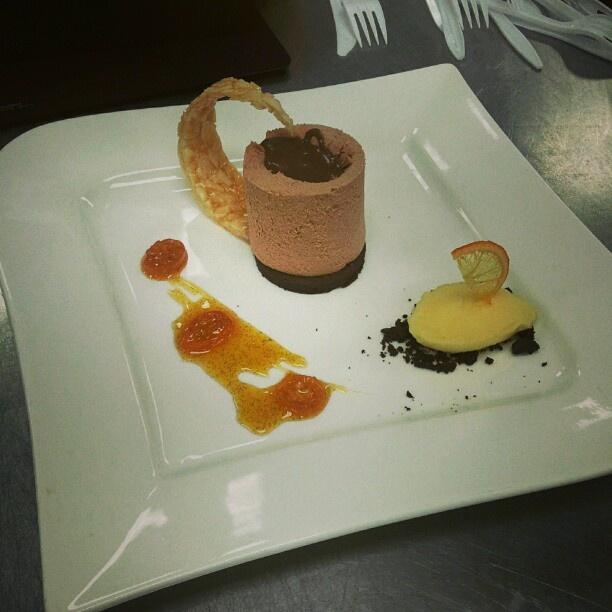 Orange Chocolate mousse | Sweets to Eat | Pinterest