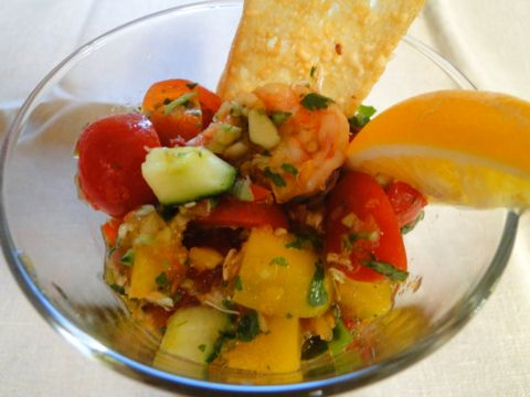 Seafood gazpacho | Recipe