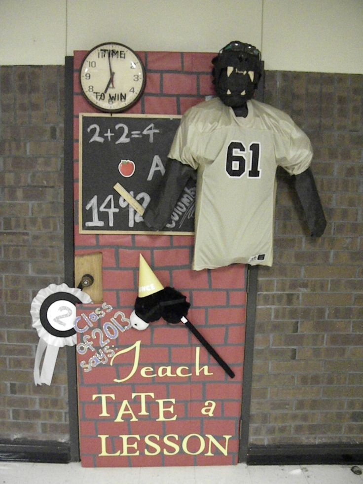 homecoming ideas homecoming door decorating contest 2011 panther