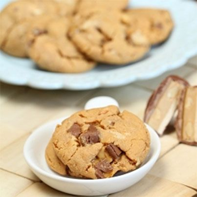 Peanut Butter Snickers Cookies | GF cookies (or easily converted) | P ...
