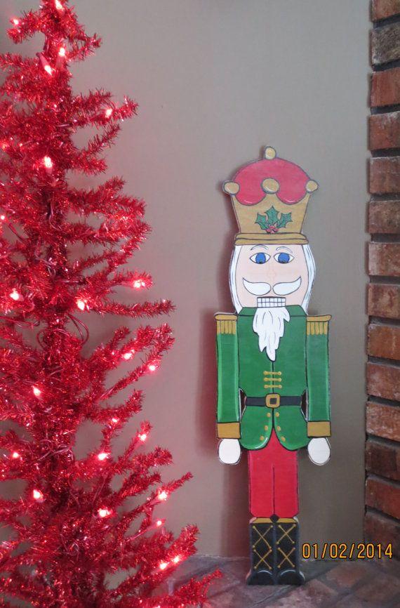 Wooden Christmas Yard Art Houston