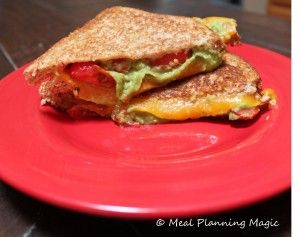 Avocado and Tomato Grilled Cheese Sandwich (Crazy Cooking Challenge ...