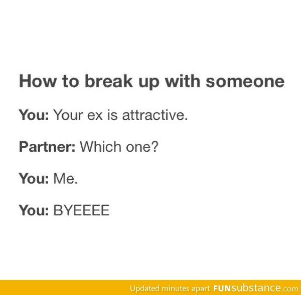 How to break up for a friend