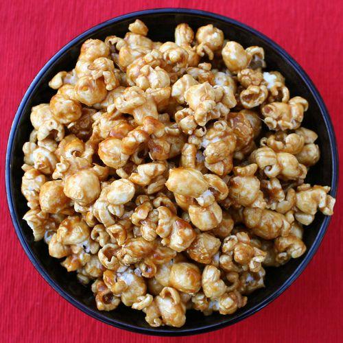caramel corn | sweet treats | Pinterest