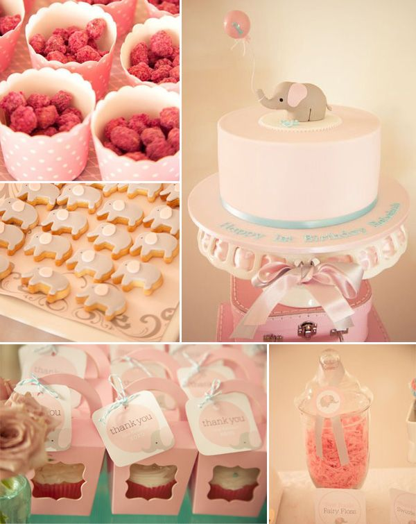 pink elephant baby shower ideas baby shower ideas pinterest