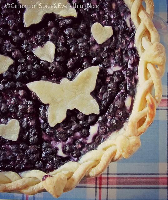 Blueberry Cream Cheese Pie | Cinnamon Spice & Everything Nice