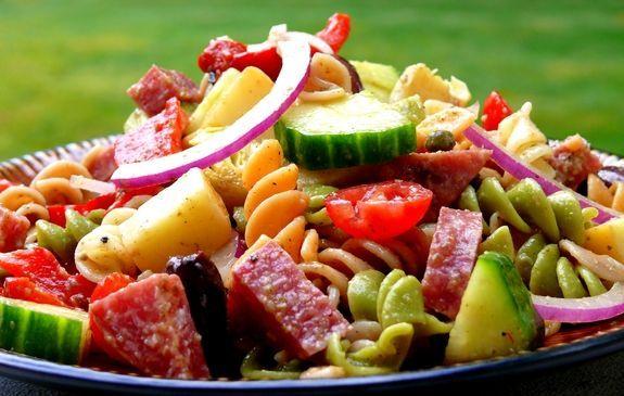 Emeril*s Crowd-Pleasing Antipasto Pasta Salad