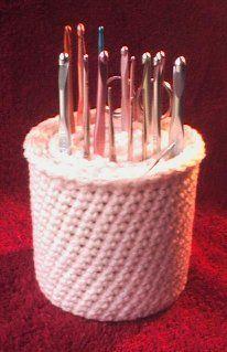 Crochet Hook Cup