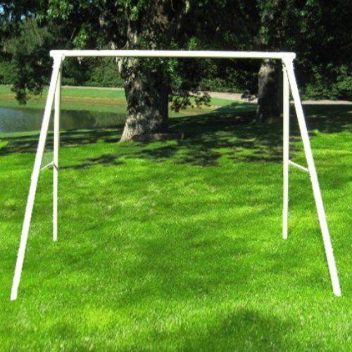 flyer metal lawn swing frame