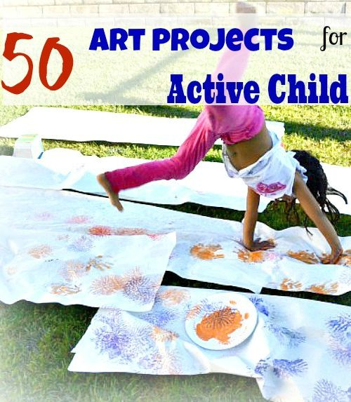 Art projects for active children