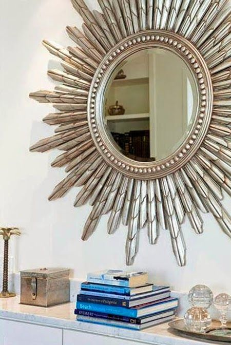 House of Turquoise: Lily G Love the starburst mirror