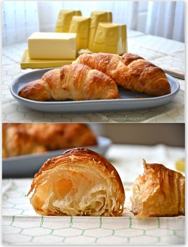 how to make flaky croissants | Breads, Donuts, Soft Pretzels…etc ...