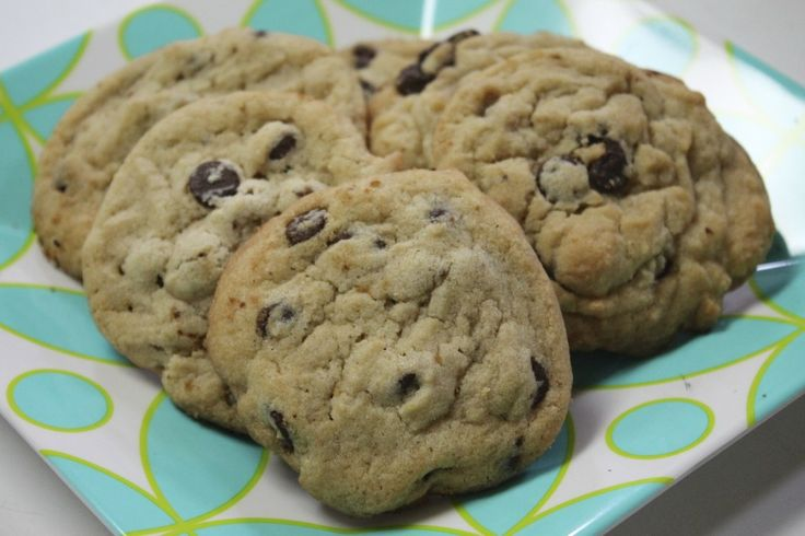 Perfect Chocolate Chip Cookies If you take your cookies out of the ...
