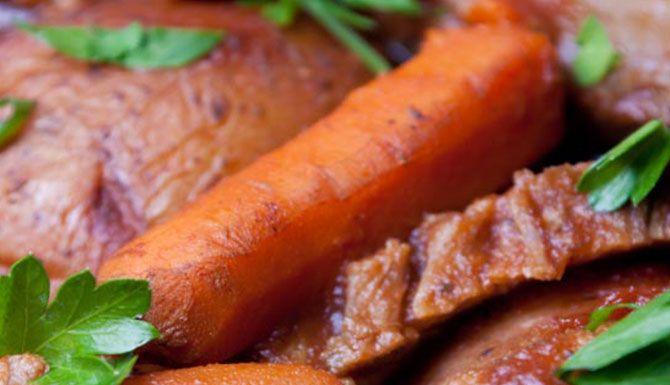 POT-ROASTED BEEF BRISKET | Healthy eating | Pinterest