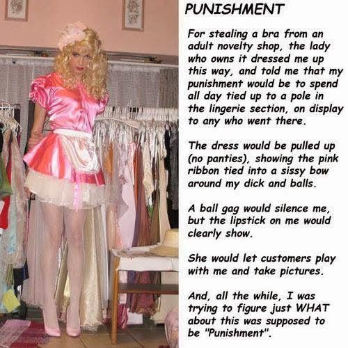 punishment crossdresser