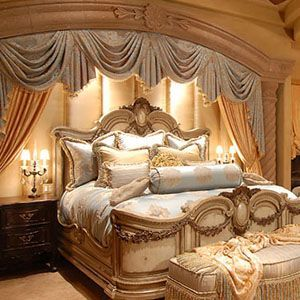 Custom Draperies Most Romantic Bedrooms In The World
