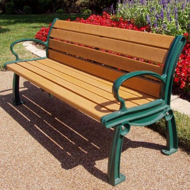 jayhawk plastics heritage recycled plastic park bench www
