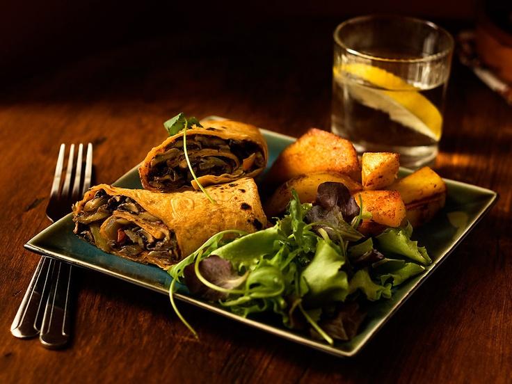 Jalapeno Portobello Steak Wraps | Main Dishes | Pinterest
