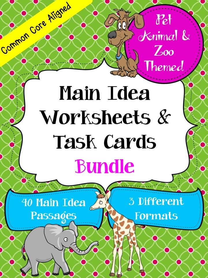 math worksheet : main idea worksheets 3rd grade multiple choice  main idea  : Multiple Choice Main Idea Worksheets