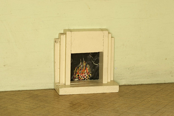 Triang Dolls House 1950 39 S Fireplace 1950s Homes Pinterest