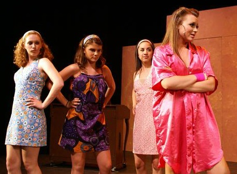 High School Musical 2: Sharpay (Brittany Breeding) and the Sharpettes ...