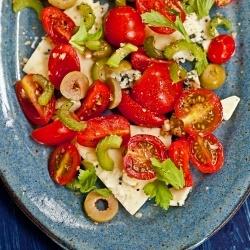 Bloody Mary Salad | food food food | Pinterest