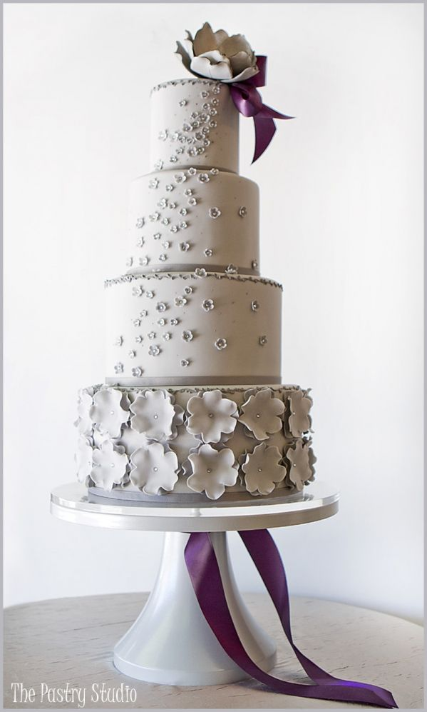 Wedding Cake Design Studio : Southern Blue Celebrations: Silver Wedding Cake Ideas ...